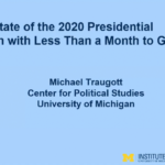My Insights from Dr. Michael Traugott's Leaders Connect Presentation: Election Update